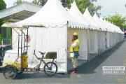 Imbas Gelaran Konser Musik di Alun-Alun Rembang, PKL 'Tergusur'