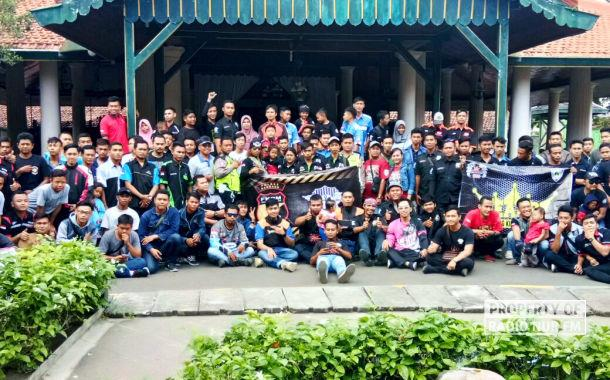 Dari Museum Sampai Makam, Ratusan Biker di Rembang Napak Tilas RA Kartini