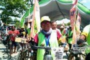 Ni Made Puspasari, Jadi Satu-Satunya Wanita Onthelis Penempuh Anyer - Bali