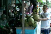Berkah Ramadhan, Omzet Penjual Kelapa Naik 100 Persen