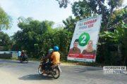 Panwaslu Rembang Tertibkan APK Hingga Ratusan Unit