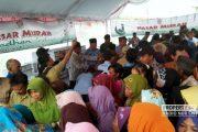 7.000 Paket Sembako Murah Dijual di Sekitar Pabrik Semen di Rembang