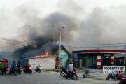 Kebakaran di Lingkup TPI Tasikagung, Warga Panik Lokasi Berdekatan dengan SPBU