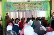 Ratusan Calon Jemaah Haji di Rembang Ikut Manasik Perdana