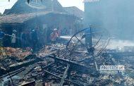 Diduga Lupa Matikan Kompor, 5 Rumah Dilalap Si Jago Merah