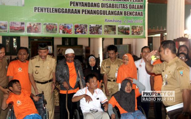 Saat Para Penyandang Disabilitas Dibekali Wawasan Tanggap Bencana