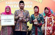 Rembang Raih Dua Penghargaan Sekaligus di Hari Anak Nasional 2018