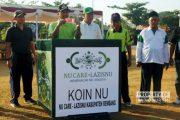 Sambut Konfercab, PCNU Rembang Gelar Jalan Sehat