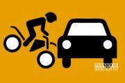 Adu Banteng dengan Mobil, Pesepeda Motor Tewas