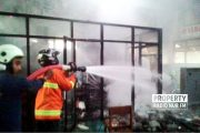 Gedung Praktik SMK Al Mubarok Rembang Dilalap Si Jago Merah