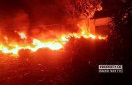 Gudang Rosok di Rembang Terbakar, 45 Ton Plastik Amblas