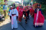 Ada Wali Songo Sampai Penjual Jamu dari Tionghoa Ramaikan Karnaval Desa Babagan Lasem