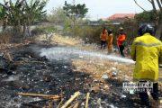 Gara-gara Pembakaran Sampah, Pasar Hewan Rembang Dilalap si Jago Merah