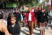 Saat Bupati Jalan Kaki 3 Kilometer Pada Kirab Budaya Desa Gowak