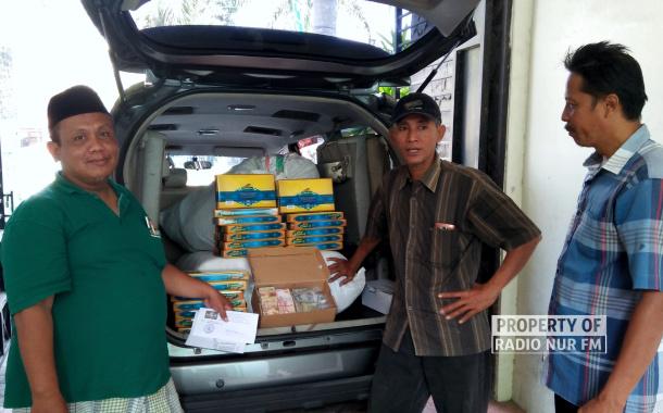 PCNU Rembang Kirim Bantuan untuk Korban Gempa Lombok