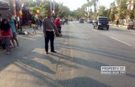 Sepeda Motor Tabrak Bus, Seorang Guru Honorer Tewas