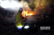 Diduga Korsleting Listrik, 3 Rumah di Sarang Ludes Terbakar