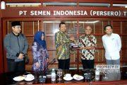 Jajaran Wakil Ketua DPRD Rembang Kunjungi Pabrik Semen, Ada Apa?