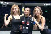 Jebolan Muay Thai, Gadis Asal Rembang Dongkrak Popularitas di Ajang MMA One