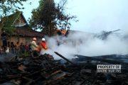 Rumah Milik Nenek Lansia di Rembang Ludes Terbakar