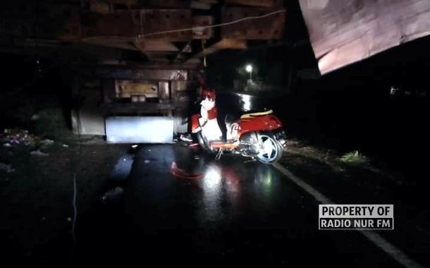 Tabrak Truk Parkir, Dua Pengendara Motor di Kragan Tewas