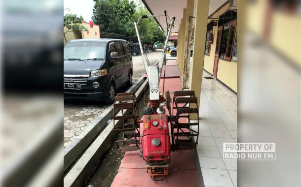 Dua Orang Warga Pati Diringkus Karena Curi Traktor Tangan di Rembang