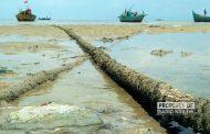 Pantai Wates di Rembang Kembali Menghitam