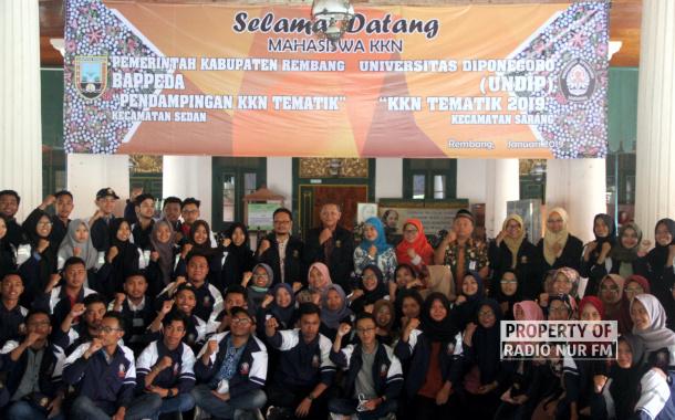 Kedatangan Ratusan Mahasiswa KKN, 21 Desa Merah di Rembang Jadi Sasaran
