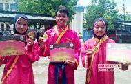 Bikin Bangga, 3 Pesilat Asal Rembang Raih Medali Emas Kejuaraan Tingkat Asia-Eropa