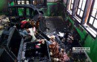 Gara-Gara Puntung Rokok, Rumah Seisinya di Rembang Hangus Terbakar