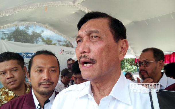 Tak Berkampanye, Luhut Panjaitan ke Rembang Paparkan Hasil Kerja Jokowi