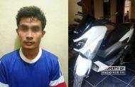 Curi NMAX Milik Karyawan Pabrik Semen di Rembang, Sutahan Dicokok Polisi