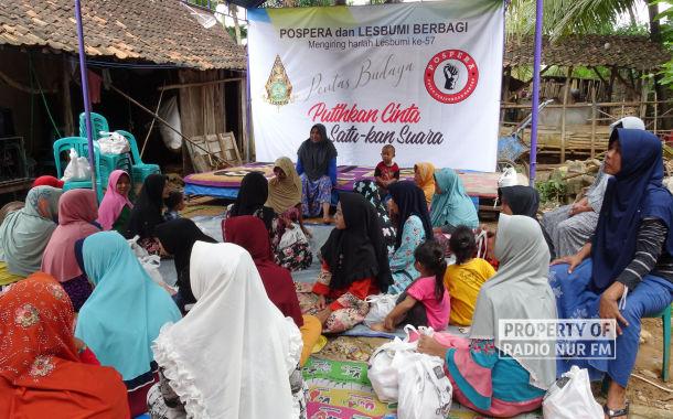Peringati Harlah ke 57, Lesbumi Rembang Santuni Ribuan Kaum Dhuafa
