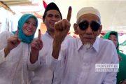 Unggul 74 Persen Suara Jokowi – Amin di TPS Mbah Moen