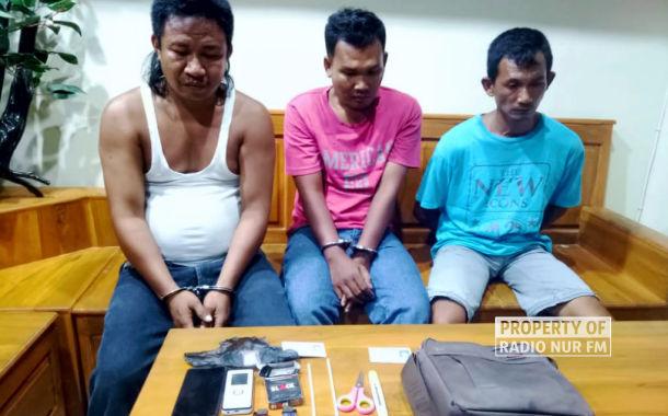 Edarkan Sabu-sabu, 3 Orang Warga Jepara Dibekuk Polisi