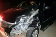 Sepulang Tarling, 5 Mobil Pejabat Rembang Ringsek Terlibat Kecelakaan Beruntun