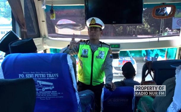 Angkutan Umum yang Melintasi Rembang Dicek Kelengkapannya Jelang Arus Mudik