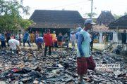 Satu Rumah di Kaliori Ludes Terbakar, Diduga Korsleting Listrik