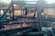 Kebakaran Lalap Sejumlah Rumah, Kerugian Ditaksir Hingga Setengah Milyar