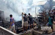 4 Rumah di Sarang Hangus Terbakar