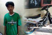 Ketangkap Basah Curi Motor di Rembang, Oknum Bonek Dicokok Polisi