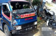 Adu Banteng dengan Minibus, Pengendara Motor Tewas Kecelakaan