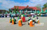 Digelar di Sedan, Kompetisi Sains Madrasah (KSM) tingkat Kabupaten Rembang Dibuka dengan Marching Band Ala Santri