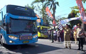 Pemberangkatan Calon Jemaah Haji Rembang