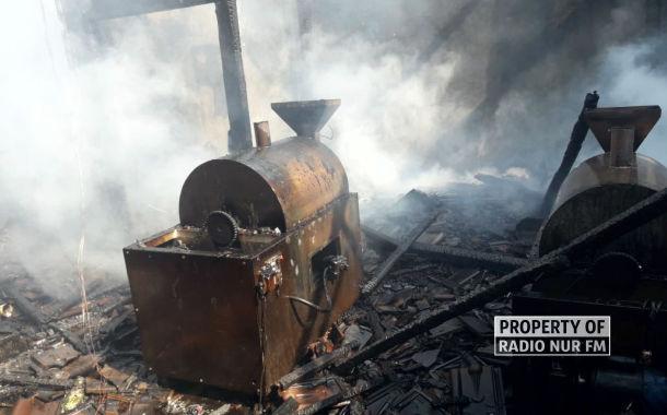 perusahaan kopi di sumberjo kebakaran