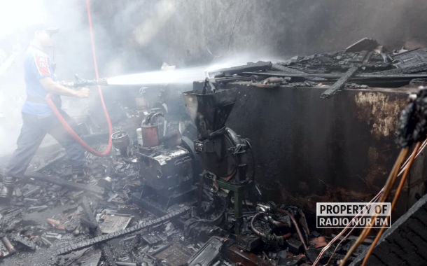 Perusahaan Kopi Milik Keluarga Kades Sumberjo Kebakaran Saat Karnaval Desa Digelar
