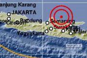 BMKG Catat Kejadian Gempa di Laut Utara Rembang
