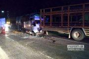 Kecelakaan Beruntun di Pantura Bonang, 3 Kendaraan 'Muatan' Terlibat