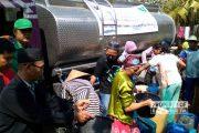 LKNU Rembang Salurkan Bantuan Air untuk Warga Terdampak Kekeringan