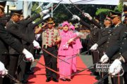 Pergantian Kapolres Rembang, Pejabat Lama Titip 'Pesan' untuk Pejabat Baru